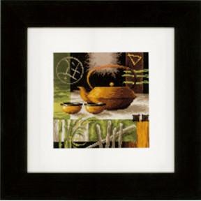 Набор для вышивки крестом Vervaco PN-0148120 Китайская чайная