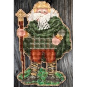Набор для вышивания Mill Hill MH205303 Ireland Santa