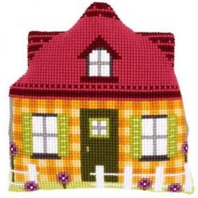 Набор для вышивки подушки с задником Vervaco PN-0147190 Желтый