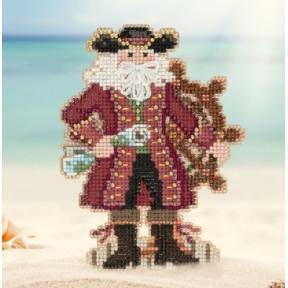 Набор для вышивания Mill Hill MH201731 Jamaica Santa