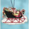 Набор для вышивания Mill Hill MH161732 Vintage Sleigh фото