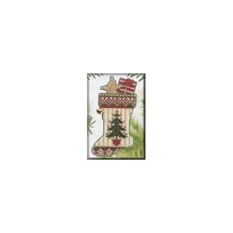 Набор для вышивания Mill Hill MHCS48 Evergreen Stocking фото