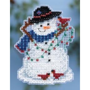 Набор для вышивания Mill Hill MH184301 Snow Fun