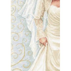 Набор для вышивки крестом Luca-S B2335 Невеста