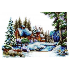 Набор для вышивания крестом Classic Design  Зима 8302