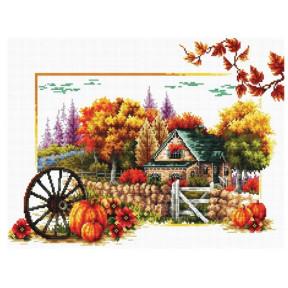 Набор для вышивания крестом Classic Design Осень 8303