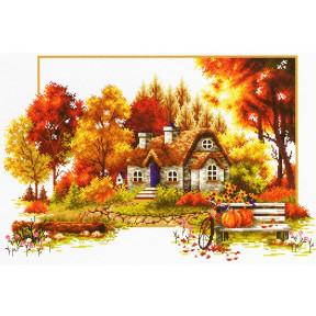 Набор для вышивания крестом Classic Design Осенняя история 8310