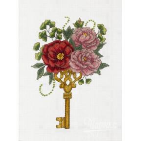 Набор для вышивания крестиком Марічка НКА-005 Заветный ключик