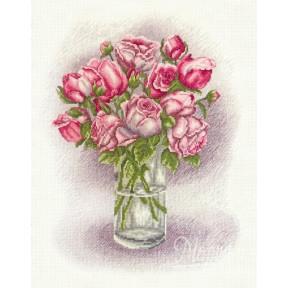 Набор для вышивания крестиком Марічка НКА-002 Розы фото