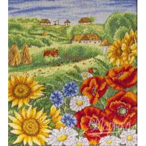 Набор для вышивания крестиком Марічка НКА-001 На просторах лета