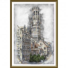 """Набор для вышивания крестом Нова Слобода СР-3252 """"Бельгия. Брюгге"""""""