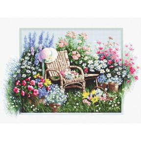 Набор для вышивки крестиком Luca-S B2344 Цветущий сад