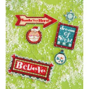 Набор для вышивания Dimensions 70-08953 Whimsical Signs