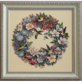 Набор для вышивания Dimensions 35132 Hummingbird Wreath фото