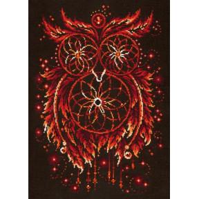 Набор для вышивки крестом крестом Чудесная игла 88-11 Пламя