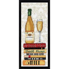 Набор для вышивания Design Works 2983 White Wine фото