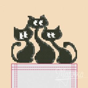 Набор для вышивки крестиком на одежде Марічка НКВ-004 Трио