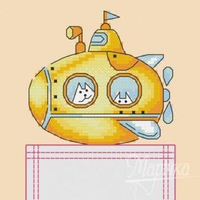 Набор для вышивки крестиком на одежде Марічка НКВ-011 Yellow