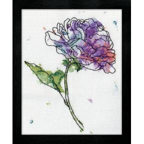 Набор для вышивания Design Works 2972 Lilac Floral фото