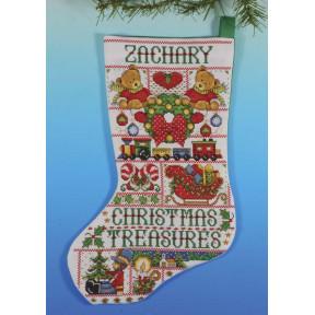 Набор для вышивания Design Works 5960 Christmas Treasures фото