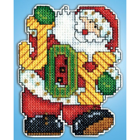 Набор для вышивания Design Works 566 Joy Santa фото