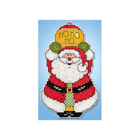 Набор для вышивания Design Works 568 Ho Ho Santa