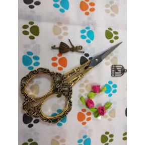 Ножницы Цапельки DMC в упаковке U1036