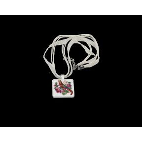 """Набор для создания украшения в технике микровышивки Lifeisbeautiful МВ-0102 Кулон """"Фиалки"""""""