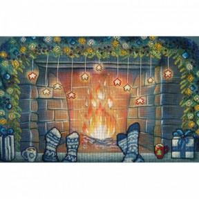"""Набор для вышивания крестом Нова Слобода ННД-2099 """"Рождество вдвоем"""""""