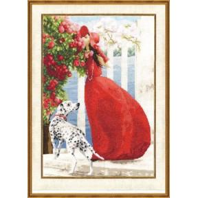 Набор для вышивки Золотое Руно ЧМ-015 Аромат роз