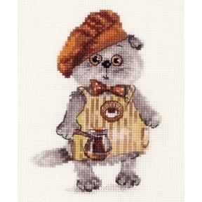 Набор для вышивки крестом Алиса 0-181 Басик бариста
