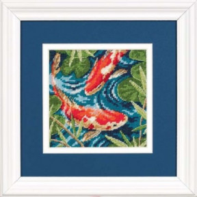 Набор для вышивки крестом Dimensions 07214 Koi Pond