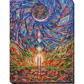 Набор для вышивки бисером на холсте Абрис Арт АВ-642 «Вестник счастья»