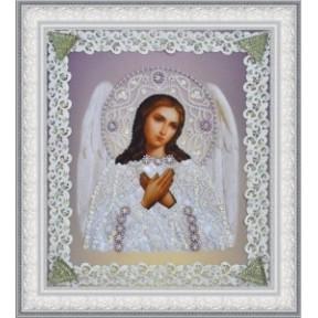 Набор для вышивания бисером  Картины Бисером Р-369 Икона Святителя Чудотворца (золото) ажур