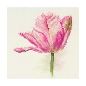 Набор для вышивки крестом Алиса 2-42 Тюльпаны.Нежно-розовый фото