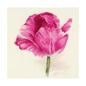 Набор для вышивки крестом Алиса 2-42 Тюльпаны.Нежно-розовый