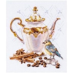 Набор для вышивки крестом Алиса 5-21 Ценитель кофе фото
