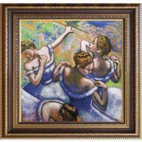 """Набор для вышивания крестом Новая Слобода СД-2251 """"Голубые танцовщицы"""""""