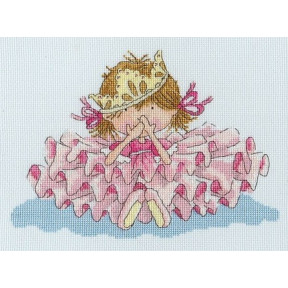 """Набор для вышивания крестом Bothy Threads XKK1  Princess """"Принцесса"""""""