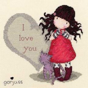 Набор для вышивания крестом Bothy Threads XG11 Purrrrrfect Love