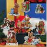 Набор для вышивания крестом Classic Design Новогодние собаки