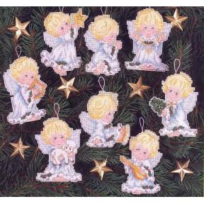 Набор для вышивания крестом Classic Design Ангелочки 4464 фото
