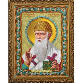 Набор для вышивания бисером  Картины Бисером Р-373 Икона Божьей Матери Семистрельная (ажур)