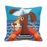 """Подушка для вышивания крестом Collection D'Art 5155 """"Sea Dog"""""""