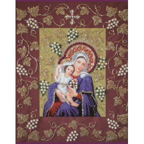 Набор для вышивания бисером Изящное Рукоделие НВ-004 Богородица Покрывающая
