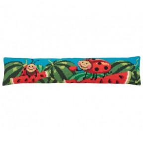 """Подушка для вышивания крестом Collection D'Art 5167 """"Flaming Red"""""""
