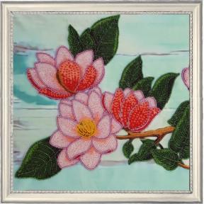 Набор для вышивания бисером Butterfly 163 Ветвь магнолии 1