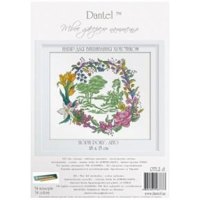 """Набор для вышивки крестом Dantel 071.1 d Времена года """"Весна"""""""