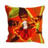 """Подушка для вышивания крестом Collection D'Art 5001 """"Orchidée Tigre"""""""