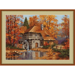 Набор для вышивки крестом Luca-S B481 Осенний пейзаж